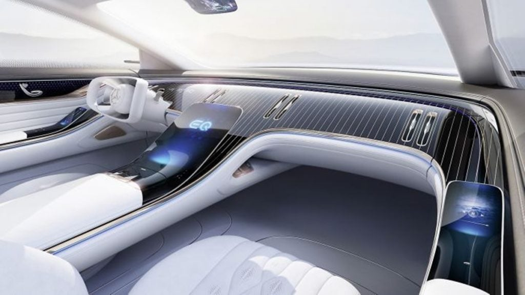 Mercedes-Benz Vision EQS interiors