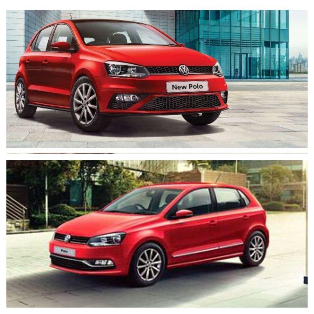 Volkswagen Polo Facelift vs Old Polo