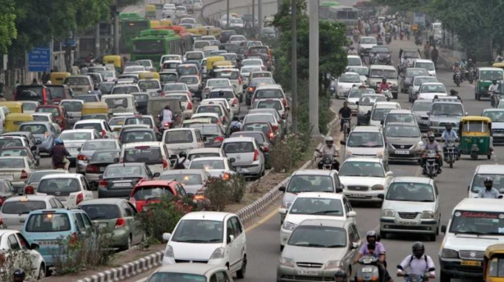 Odd even rule Delhi image