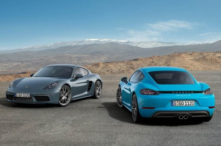 Porsche 718 Cayman and Boxster could have Electric Versions in Future!
