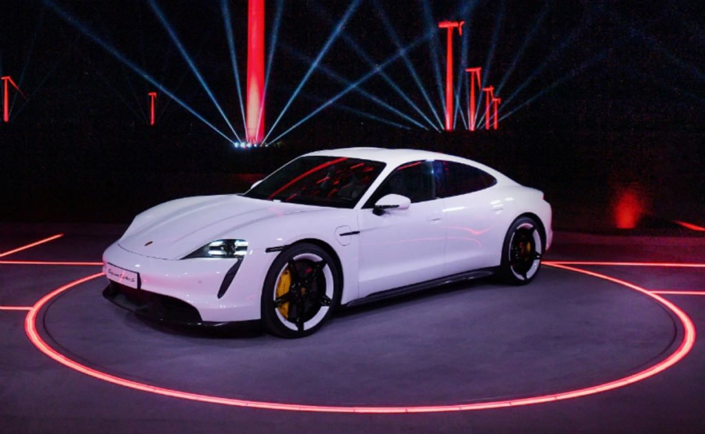 Porsche Taycan Revealed ahead of official debut at Frankfurt
