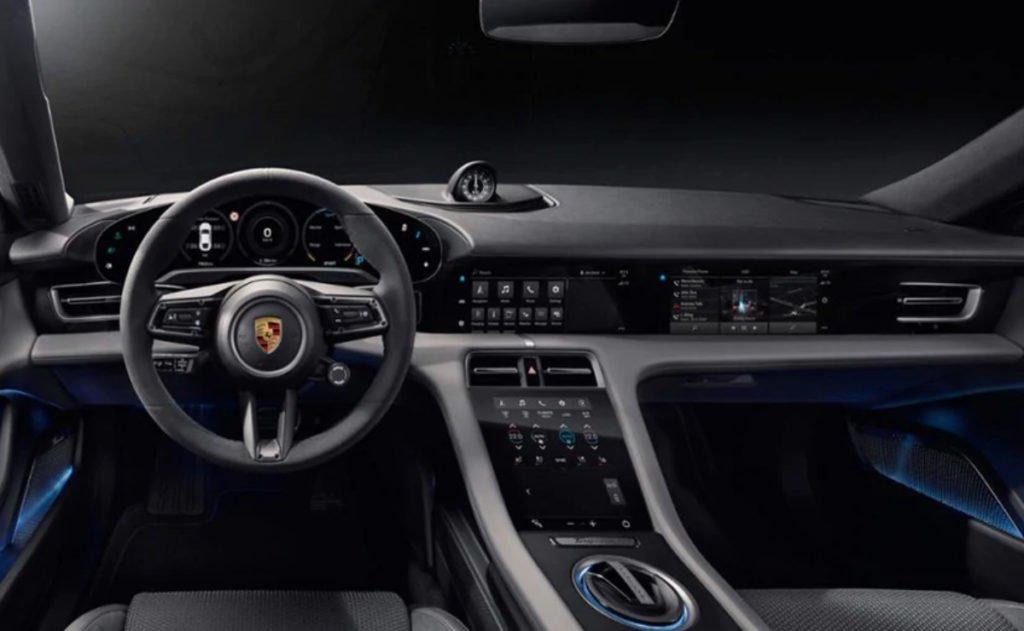 Porsche Taycan Interiors