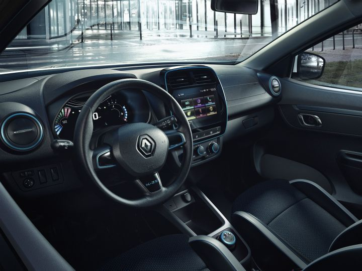 Renault Kwid EV interiors