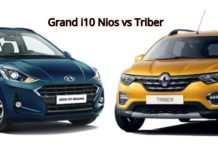 Renault Triber vs Hyundai Grand i10 Nios