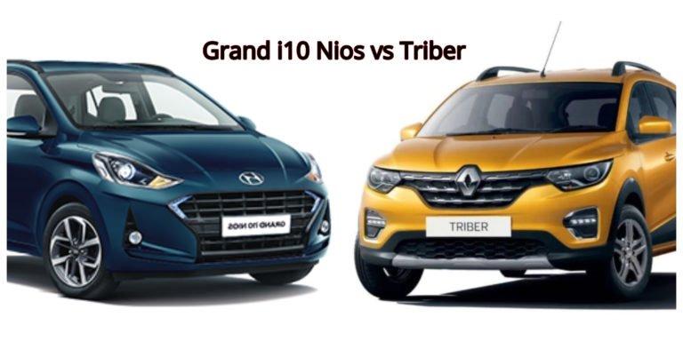 Renault Triber vs Hyundai Grand i10 Nios – Specifications Comparison