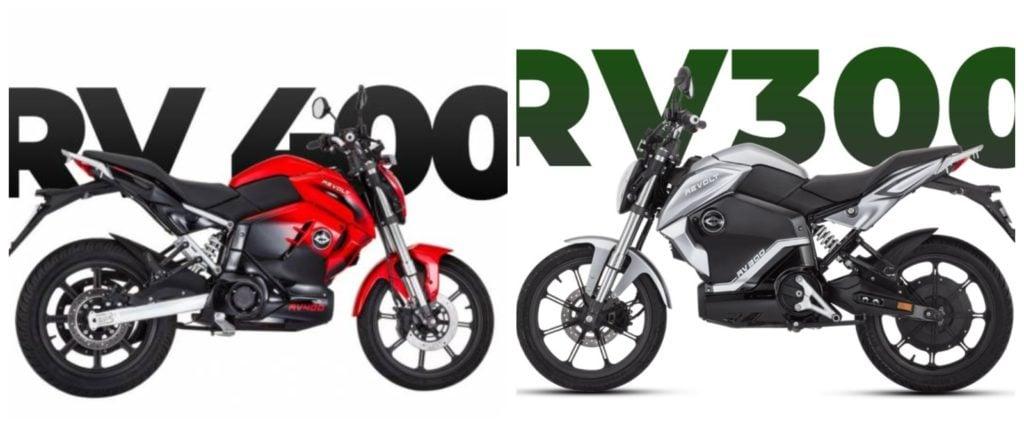 Revolt RV400 Vs RV300