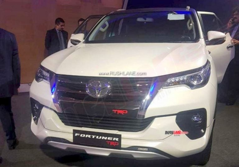 Toyota Fortuner TRD Sportiva to Launch in India on September 12!