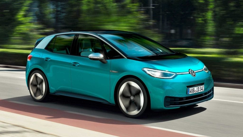 The Volkswagen ID.3 gets a maximum range of 548 km