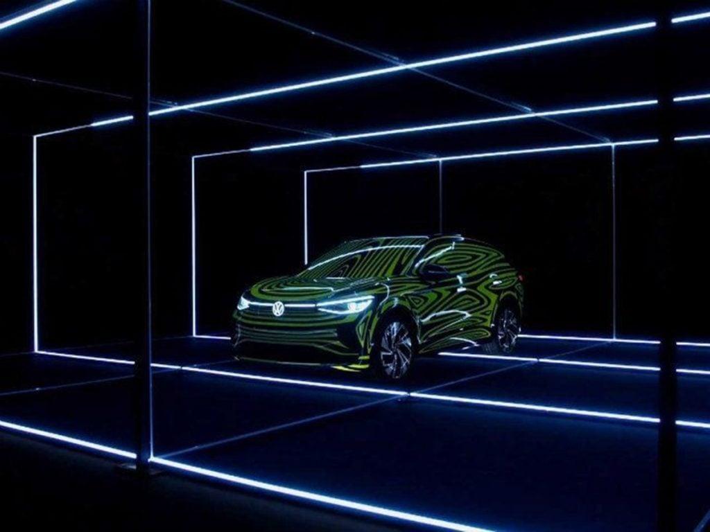 Volkswagen ID.4 Crozz Concept unveiled at Frankfurt
