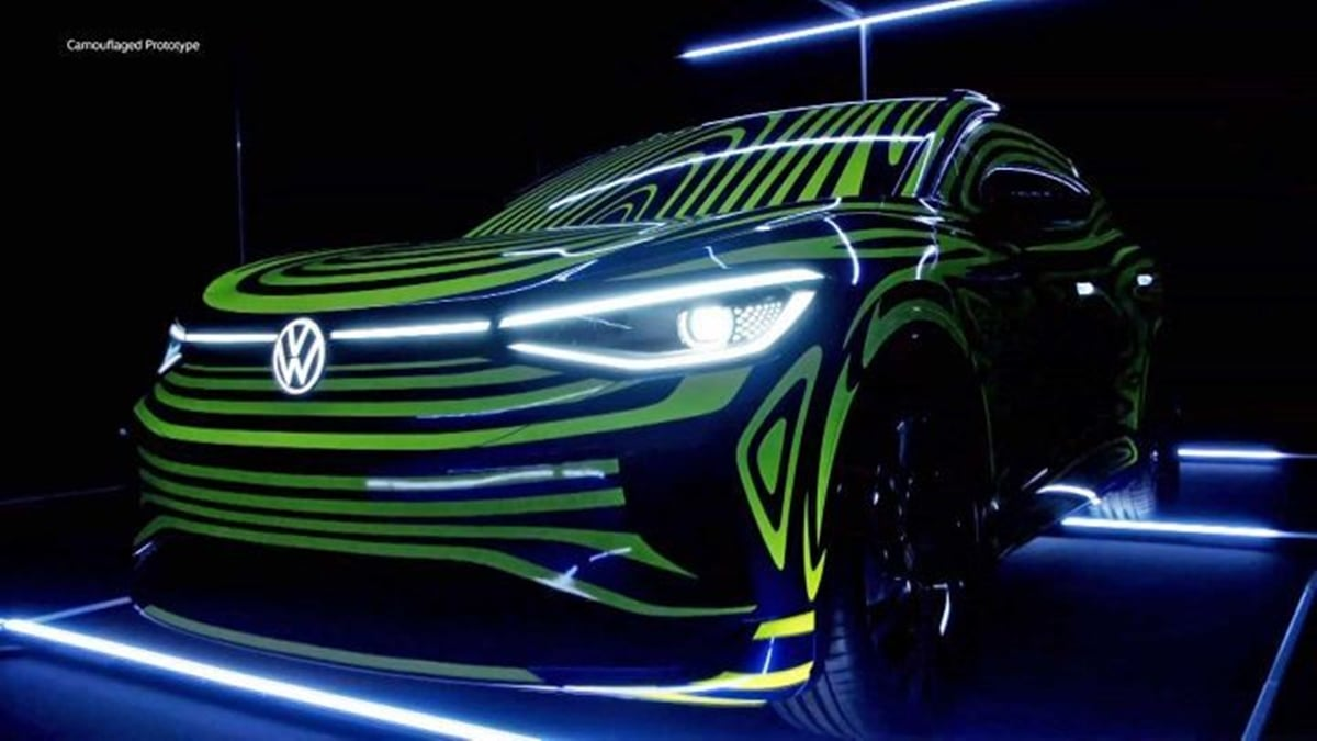 VW Golf Electric >> Volkswagen ID.4 Crozz Concept to ID.3 as VW's next ID ...