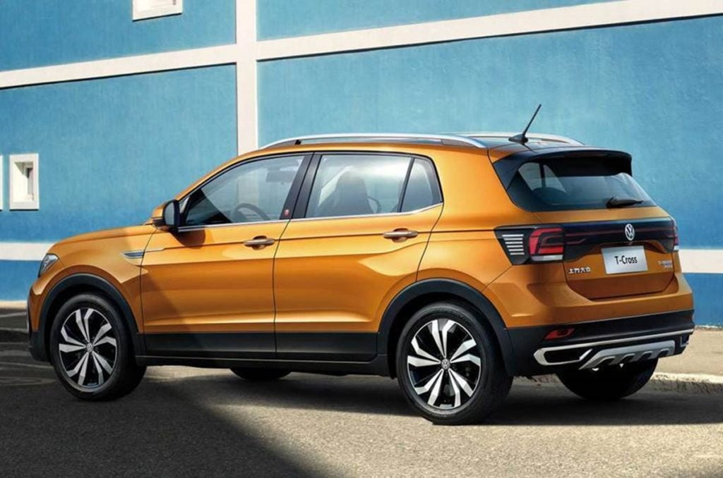 Volkswagen T-Cross will be built on a modified-for-India version of the MQB AO platfrom