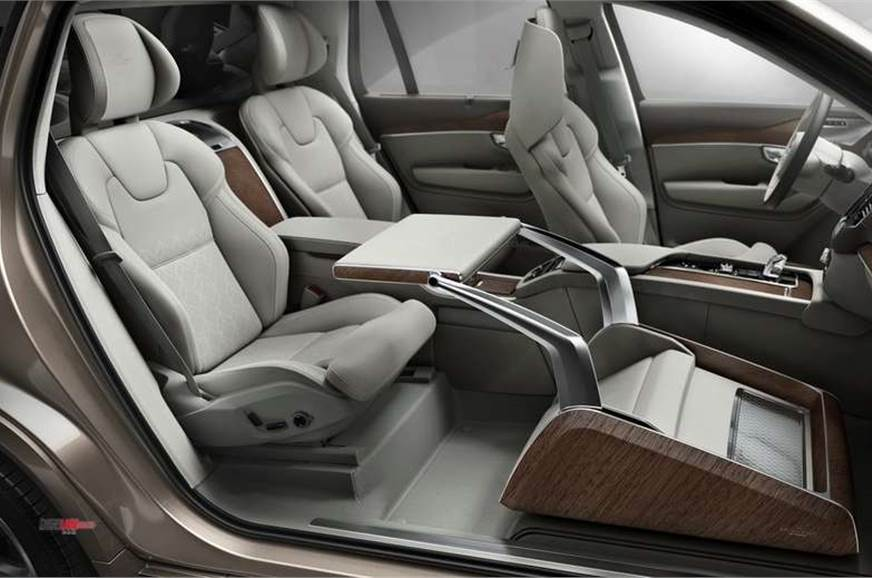 Volvo XC90 Excellence Lounge Edition comes in three-seat configuration