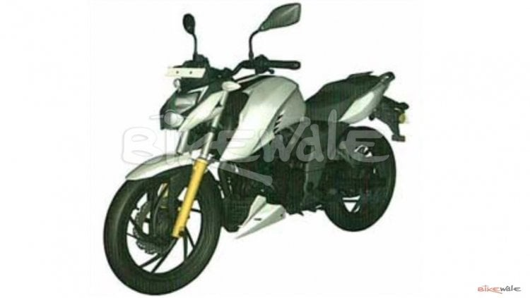 New TVS Apache RTR 160 4V Photo Leaked; To Be Launched This Year