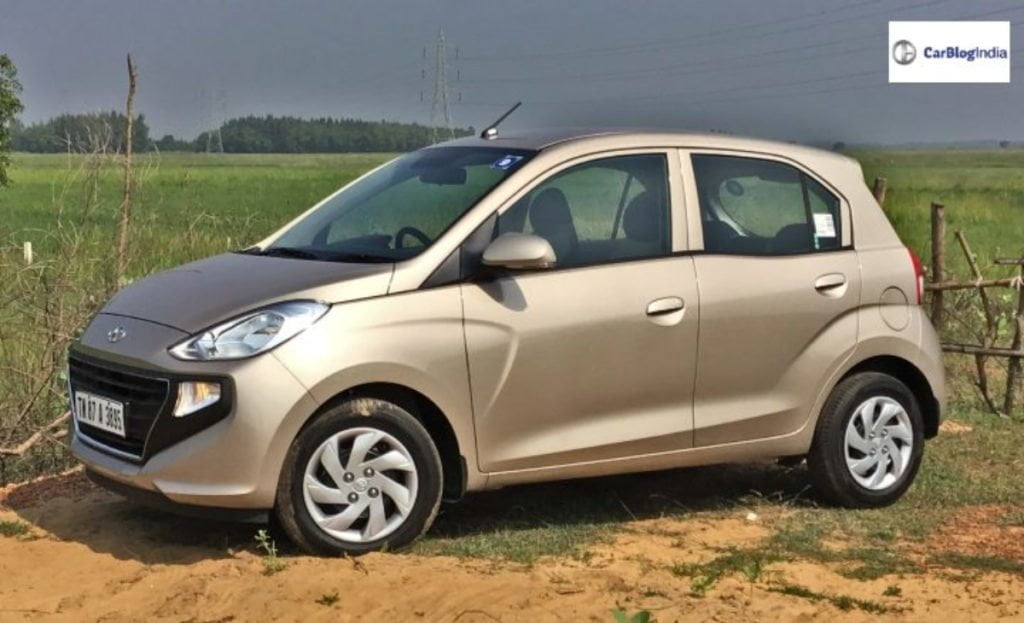 The Hyundai Santro is the cheapest automatic car of this segment