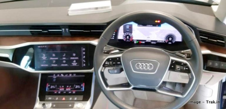 2019 India Bound Audi A6 Interiors Revealed In New Spy Shots