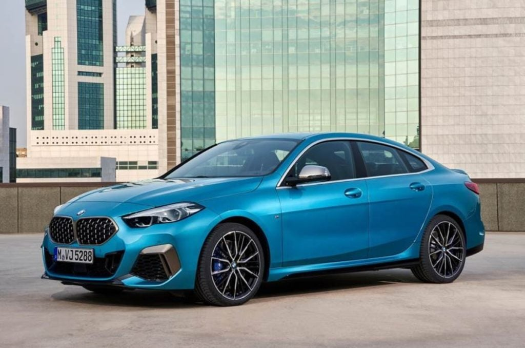 BWM would have showcased the 2 series Gran Coupe if they were attending.