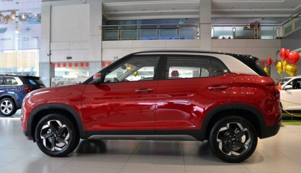 The new Creta could also get dual-tone paint schemes