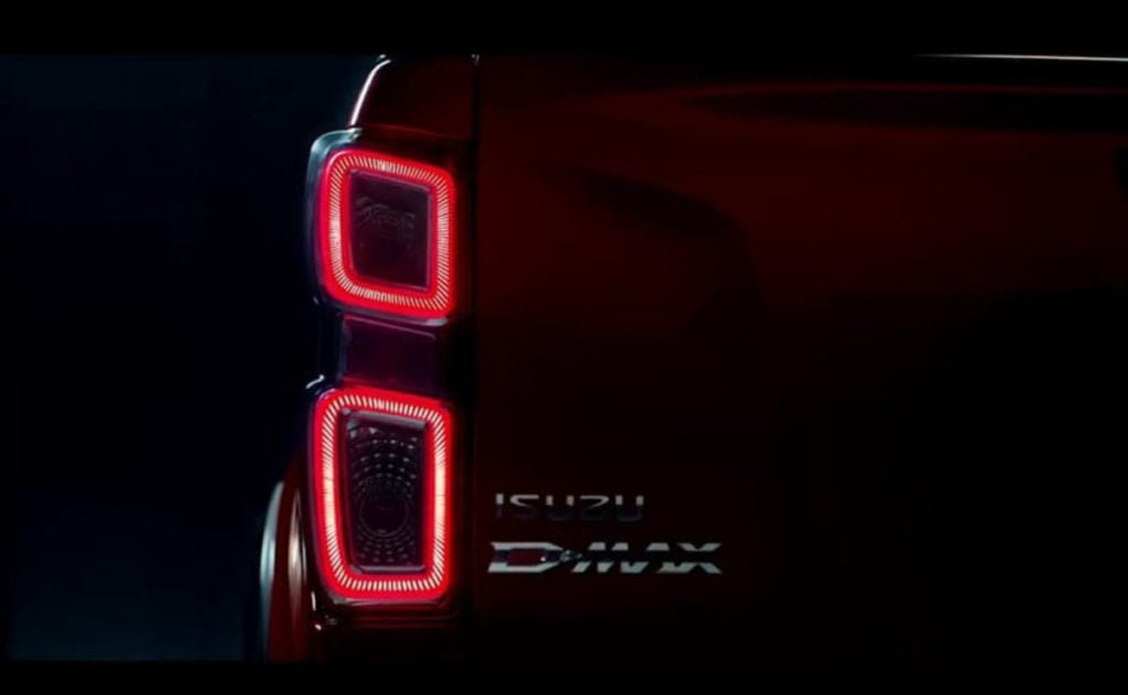 The new Isuzu D-Max gets a brand new design language
