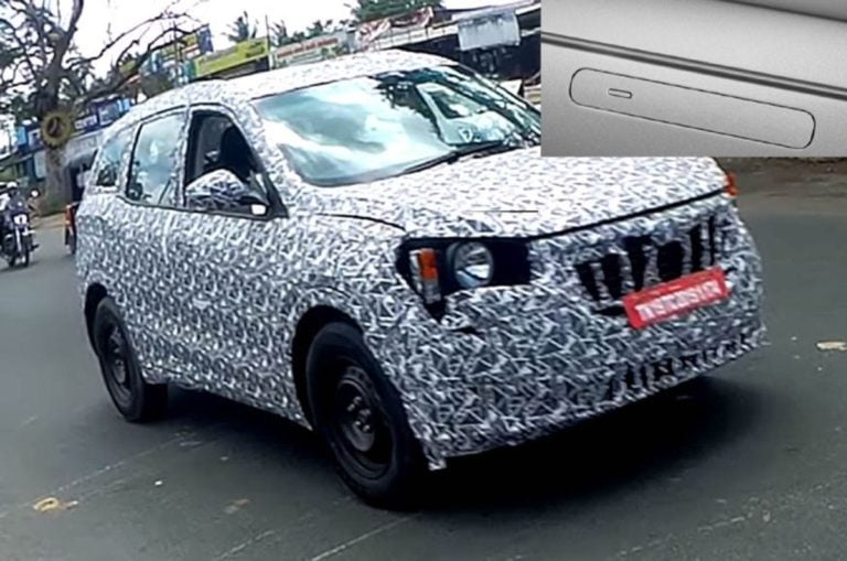 A Range Rover Velar Like Door Handles On The 2020 Mahindra XUV500?