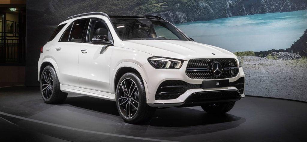 2020 Mercedes Benz GLE India Image