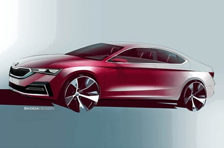 Skoda Teased The Sketch Of The 2020 Octavia – Design Details