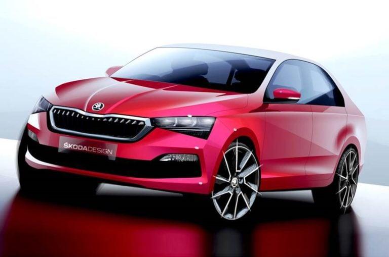 Skoda has Released the First Sketch of the 2020 Rapid Sedan!