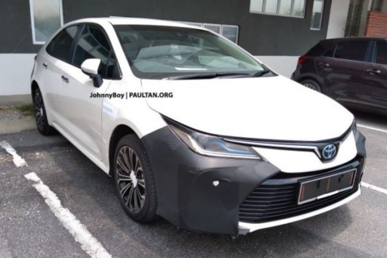 New 2020 Toyota Corolla Hybrid Spied Testing; Might Not Come To India