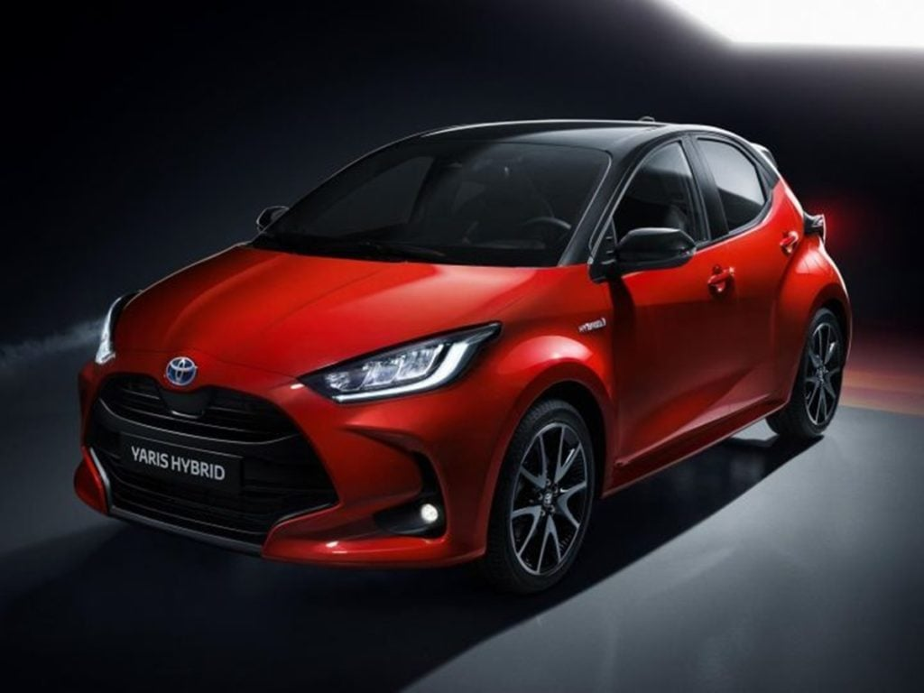 Toyota unveils the 2020 Yaris hatchback ahead of world premiere at 2019 Tokyo Motor Show