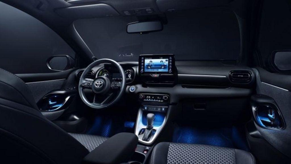 2020 Toyota Yaris interiors
