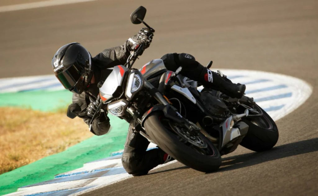 Triumph claims that the performance is more accessible now.