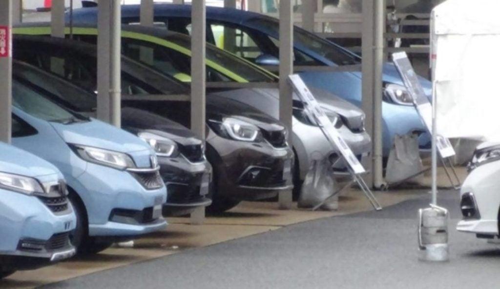 New Honda Jazz spied undisguised earlier