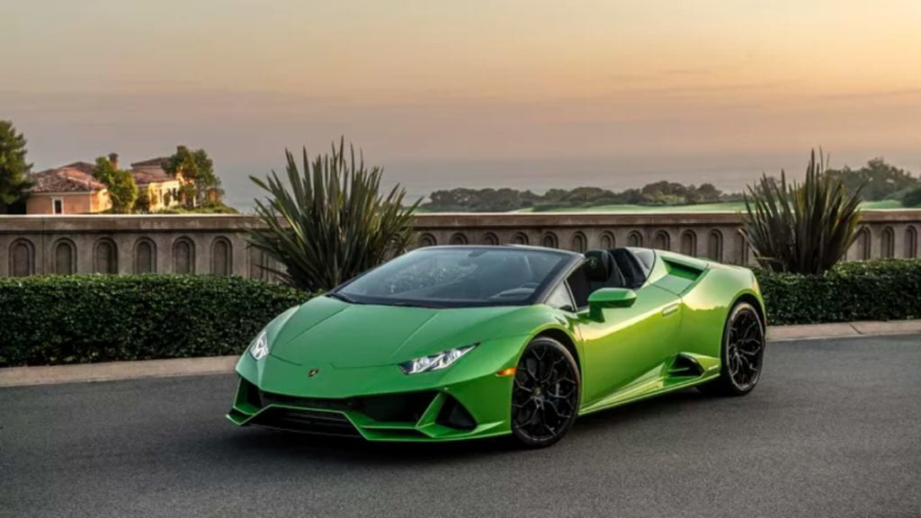 Lamborghini launched the Huracan Evo Spyder in India today