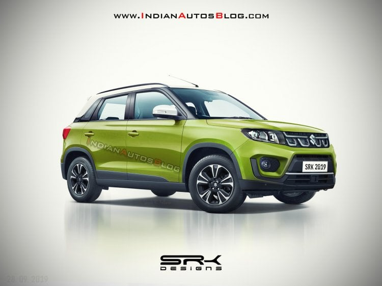 New 2020 Maruti Vitara Brezza Rendering From New Spy Shots