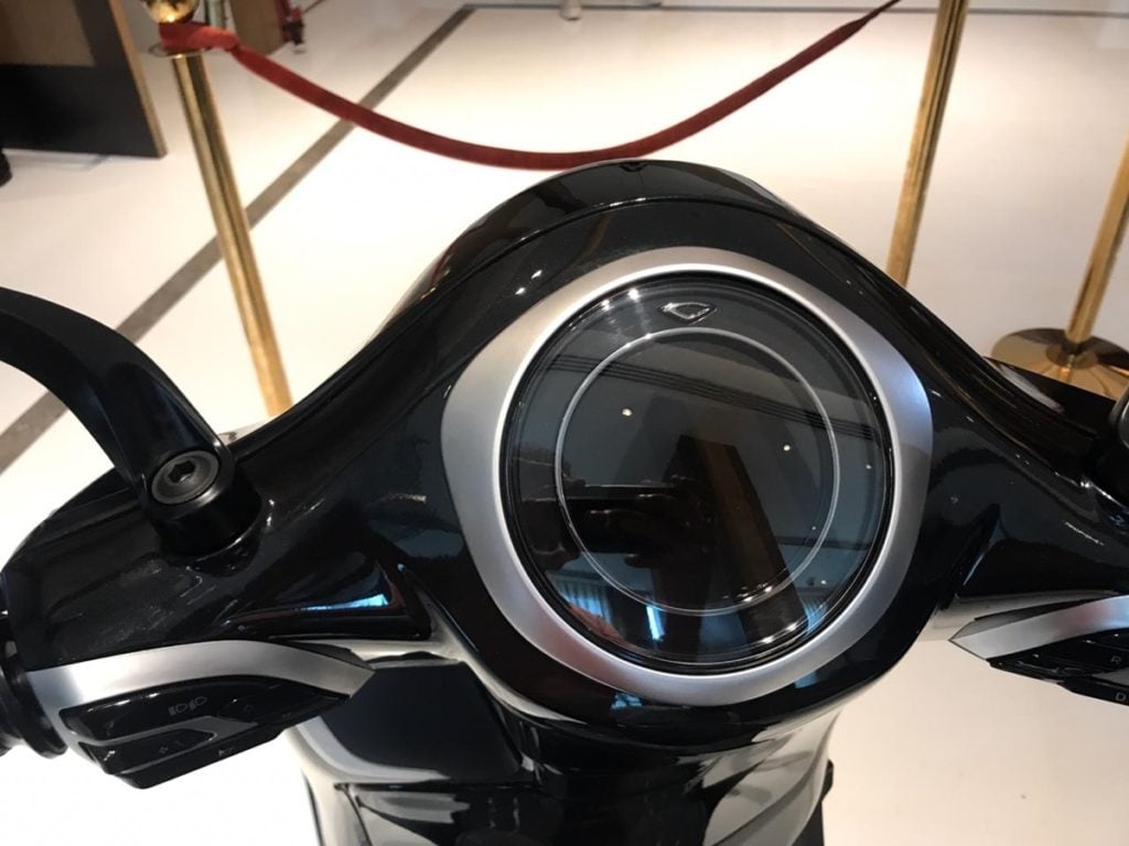 Its quite well equipped with a digital instrument cluster that allows smartphone connectivity.