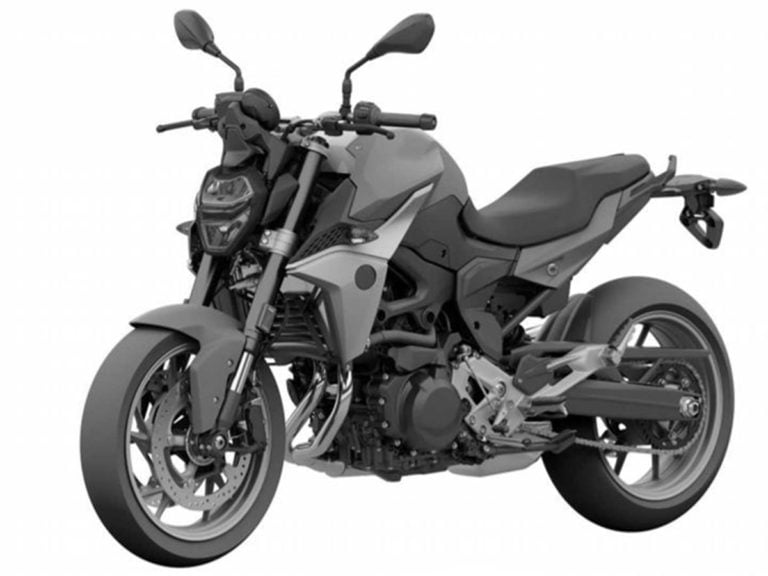 BMW F 850 R Patent Images Leaked Ahead of Unveil at EICMA!