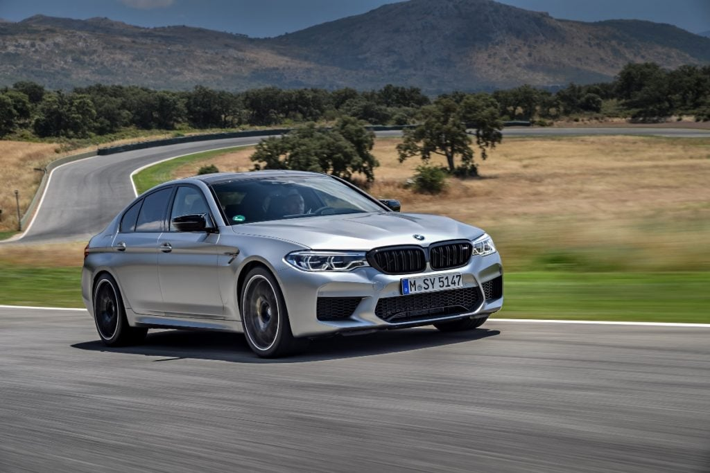BMW M5 Competition Price India Image