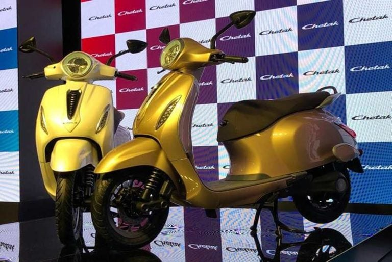 Bajaj Unveils New Chetak Scooter, But This Time its Electric!