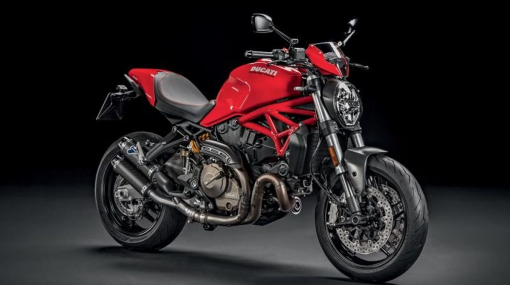 And finally, the Ducati Monster 821 is the priciest of the lot