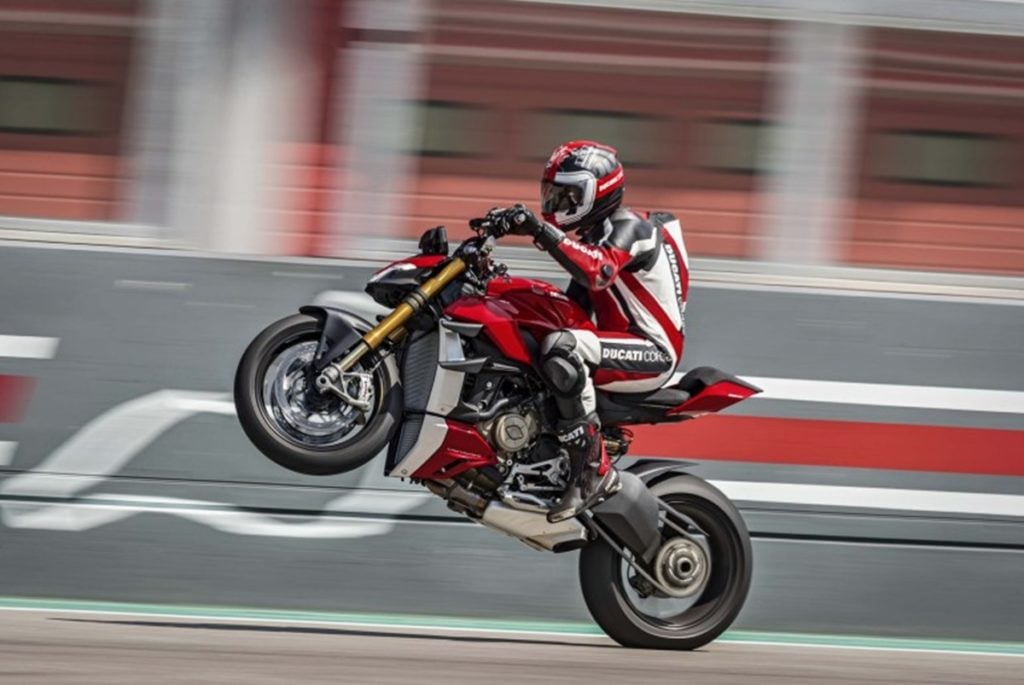 The Ducati Streetfighter V4 is now the most powerful naked motorcycle from Ducati.