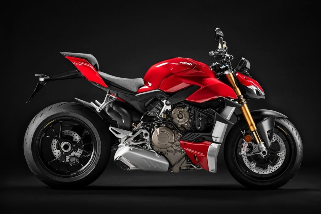 It is powered by the same engine as in the Panigale V4