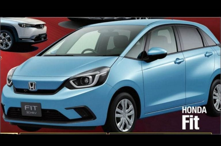 Here's How The Next-Gen Honda Jazz Looks Like!