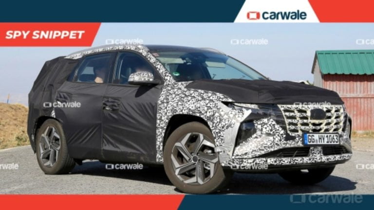 Hyundai Tuscon Facelift Spied Testing Internationally!