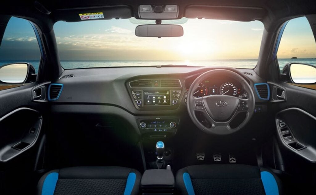 Hyundai i20 Active interiors