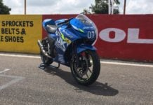 Suzuki Gixxer SF 250 Moto GP Edition