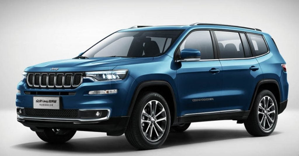 Jeep has new models coming up only in 2021. This a rendering of a full-sized Ford Endeavor rival from Jeep