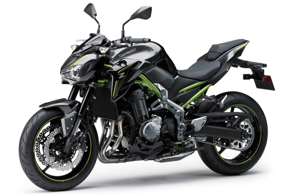The Kawasaki Z900 has the most powerful engine of the lot