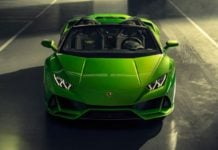 Lamborghini Huracan Evo Spyder India Image