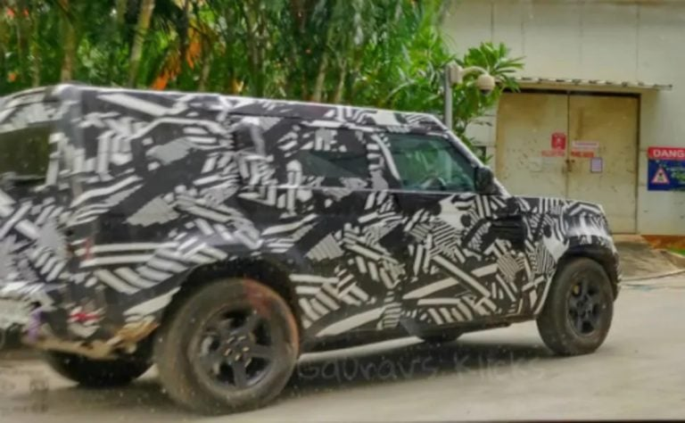 Iconic 2020 Land Rover Defender Spotted Testing in India!