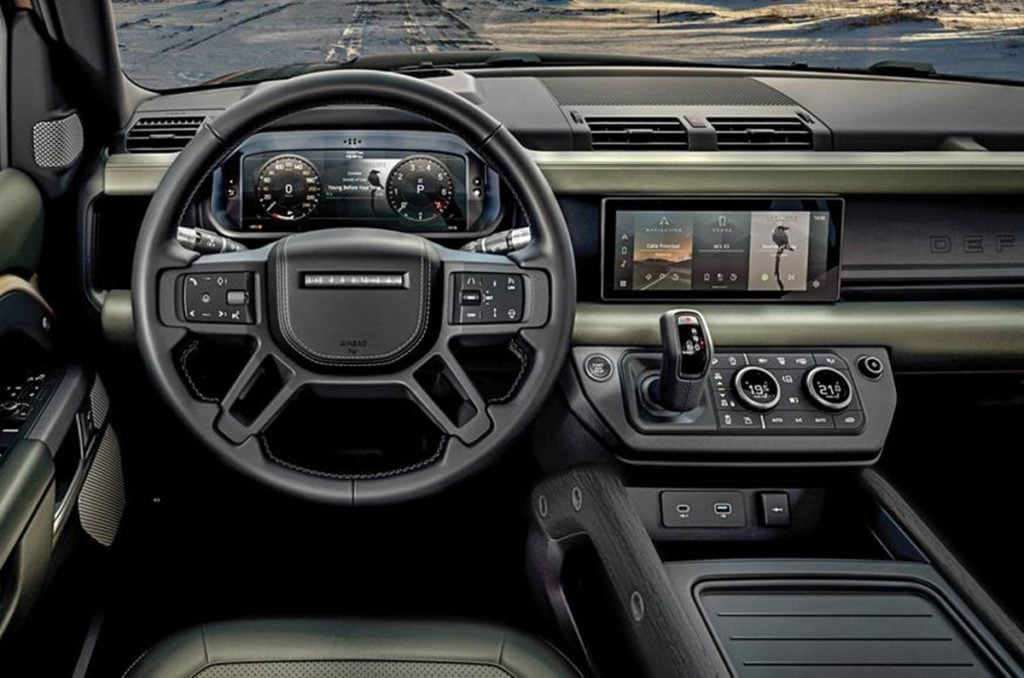 2020 Land Rover Defender interiors