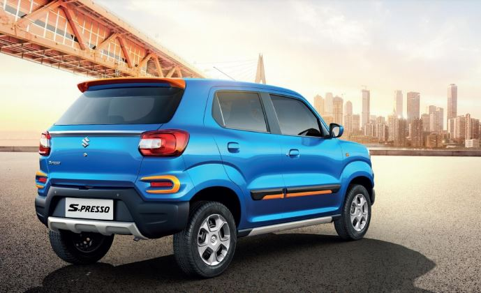 Maruti S-Presso Energetic Packages